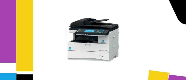 [Solved] Konica Minolta bizhub 240f Printer Manual