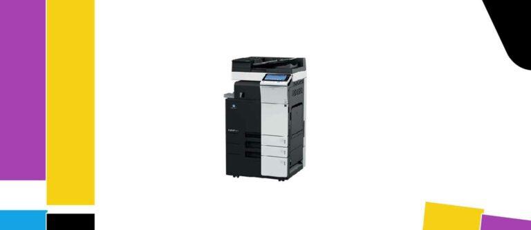 [Solved] Konica Minolta bizhub 364e Printer Manual