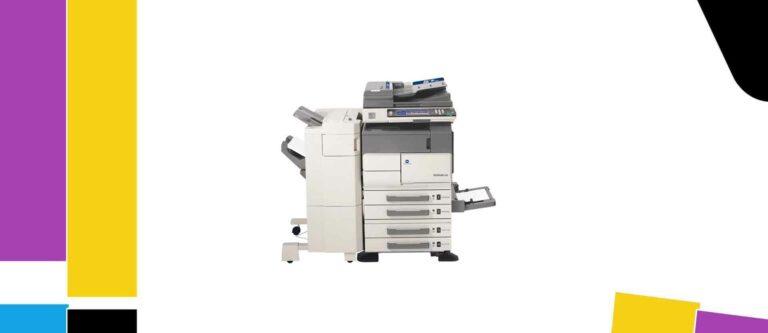 [Solved] Konica Minolta bizhub 420 Printer Manual