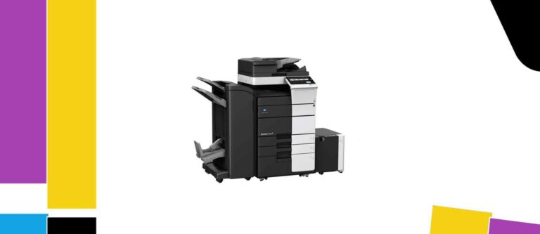 [Solved] Konica Minolta bizhub C558 Printer Manual