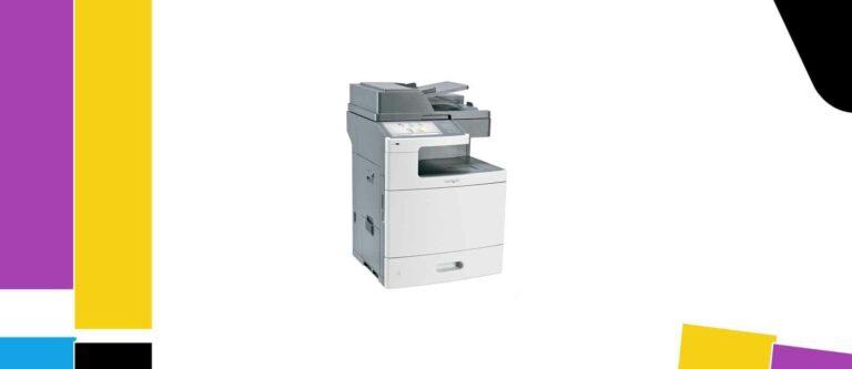 [Solved] Lexmark X792de Printer Manual